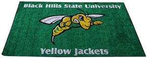 Fan Mats Black Hills State U. Ulti-mat
