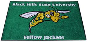 Fan Mats Black Hills State U. All Star Mat