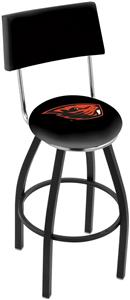 Oregon State University Swivel Back Bar Stool
