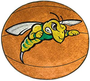 Fan Mats Black Hills State U. Basketball Mat