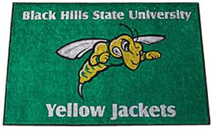 Fan Mats Black Hills State U. Starter Mat