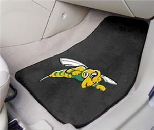 Fan Mats Black Hills State Carpet Car Mats (set)