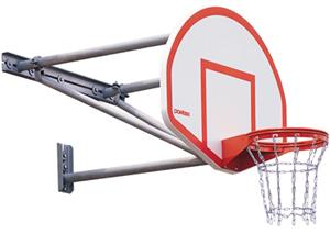 Porter Outdoor Wall-Mount Basketball System