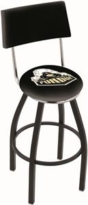 Holland Purdue Swivel Back Bar Stool