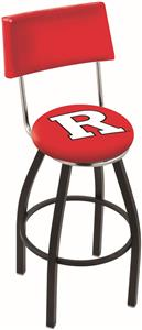 Holland Rutgers University Swivel Back Bar Stool