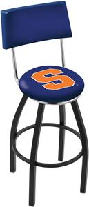 Holland Syracuse University Swivel Back Bar Stool