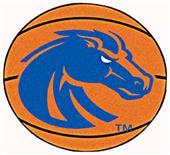 Fan Mats Boise State University Basketball Mat