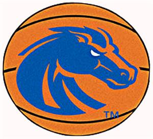 Fan Mats Boise State University Basketball Mat