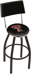 Texas Tech University Swivel Back Bar Stool