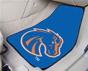Fan Mats Boise State Univ Carpet Car Mats (sets)