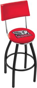 Univ of Alabama Elephant Swivel Back Bar Stool