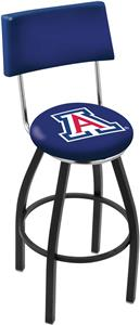 University of Arizona Swivel Back Bar Stool
