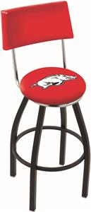University of Arkansas Swivel Back Bar Stool