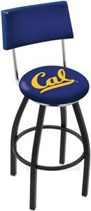 University of California Swivel Back Bar Stool