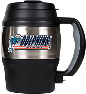 NFL Miami Dolphins Mini Jug w/Bottle Opener