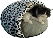 Armarkat Covered Pawprint Cat Beds - C19HZY/HL