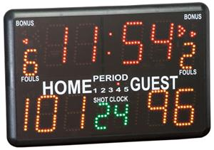 Porter Portable Indoor Tabletop Scoreboard