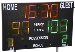 Porter Multi-Sport Scoreboard with Controller