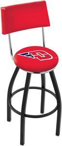 University of Dayton Swivel Back Bar Stool