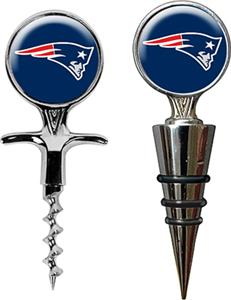 NFL Patriots Cork Screw & Bottle Topper