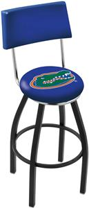 University of Florida Swivel Back Bar Stool
