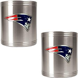NFL Patriots Stainless Steel Can Holders