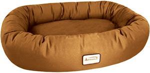 Armarkat Oval Soft Velvet Dog Beds