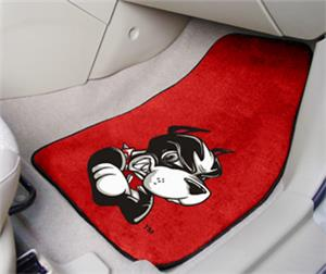 Fan Mats Boston University Carpet Car Mats