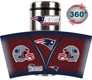 NFL Patriots Tumbler (Logo & Team Name)