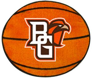 Fan Mats Bowling Green Basketball Mat
