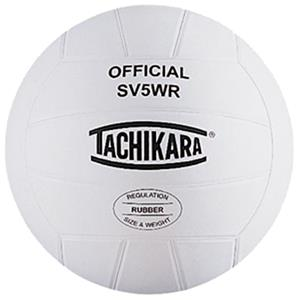 Tachikara SV5WR Indoor/Outdoor Rubber Volleyballs