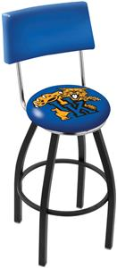University of Kentucky Cat Swivel Back Bar Stool