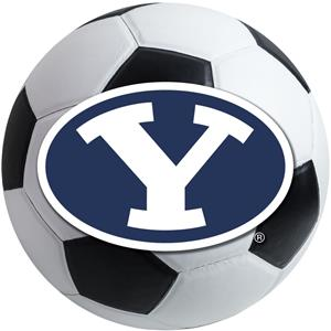Fan Mats Brigham Young University Soccer Ball
