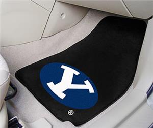 Fan Mats Brigham Young University Carpet Car Mats