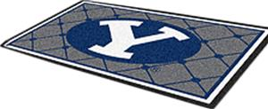 Fan Mats Brigham Young University 4x6 Rug