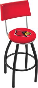 University of Louisville Swivel Back Bar Stool