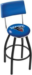 University of Maine Swivel Back Bar Stool