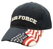 Defenders of Freedom Military Branch Caps