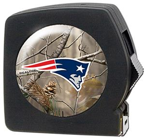 NFL Patriots 25' RealTree Tape Measure