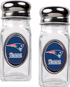 NFL Patriots Salt & Pepper Shaker Set