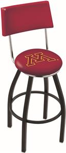 University of Minnesota Swivel Back Bar Stool