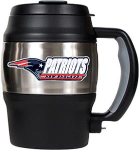 NFL Patriots Mini Jug w/Bottle Opener