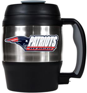 NFL Patriots 52oz Macho Travel Mug