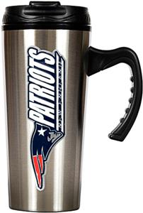 NFL Patriots 16oz Travel Mug