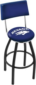 University of Nevada Swivel Back Bar Stool