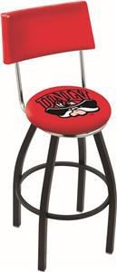 Univ of Nevada Las Vegas Swivel Back Bar Stool