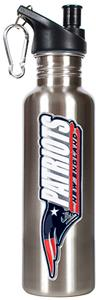 NFL Patriots Steel Water Bottle