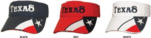 ROCKPOINT Texas Visor w/Texas Embroidery
