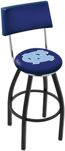 University of North Carolina Swivel Back Bar Stool