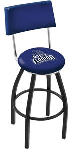 University of North Florida Swivel Back Bar Stool